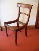 A regency chair