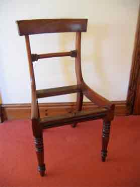 A Regency Dining Chair